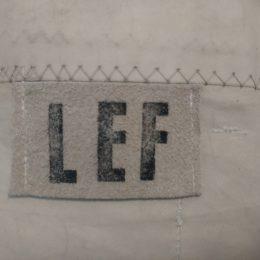 LEF tas gemaakt van een gebruikt zeil van een zeilboot € 48,-