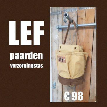 Paarden verzorgingstas met LEF € 98